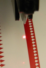 Laser Guided Score Cut Holder