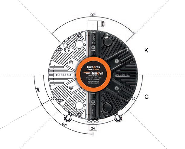 Renova Turborex Pneumatic Brake