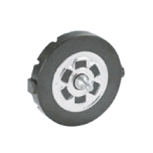 Anti-rotation pads with anti-vibration ring